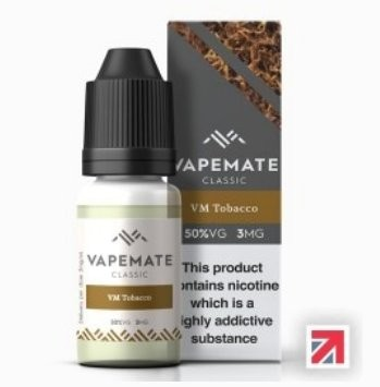 Tobacco Analogue (VM Tobacco) e-Liquid by Vapemate