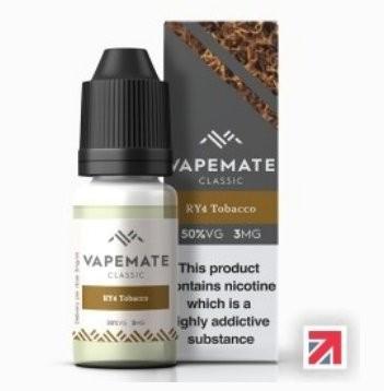 Tobacco Caramel Vanilla (RY4) e-Liquid Vapemate