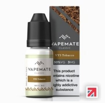 Tobacco Sweet Smooth (VY3) e-Liquid by Vapemate