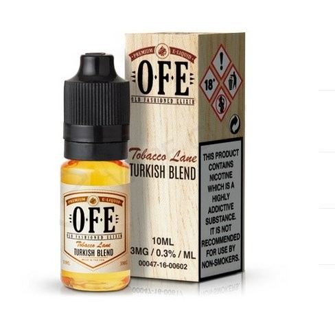 Turkish Blend Tobacco e-Liquid by OFE