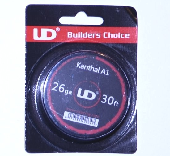 UD Kanthal A1 26G Wire 30ft