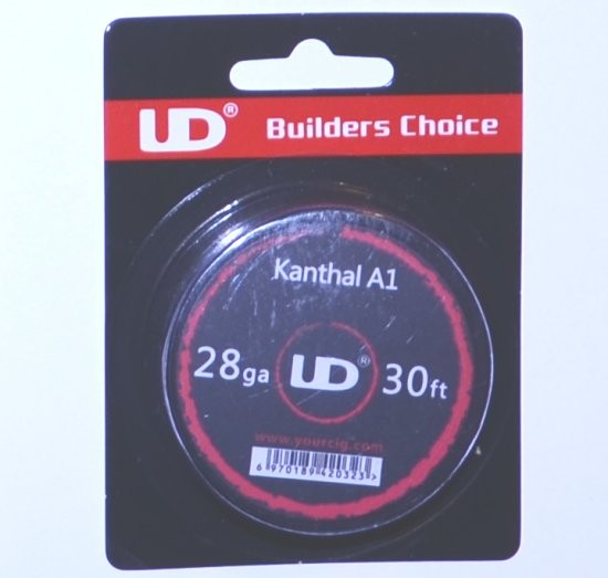 UD Kanthal A1 28G Wire 30ft