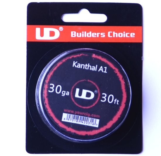 UD Kanthal A1 30G Wire 30ft