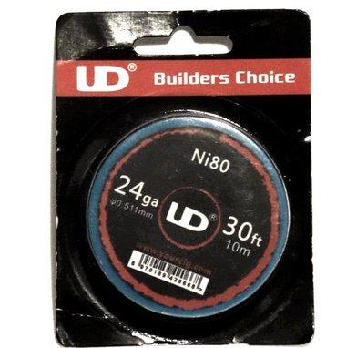 UD Ni80 Nichrome Wire 24G 30ft