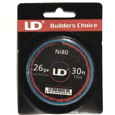 UD Ni80 Nichrome Wire 26G 30ft