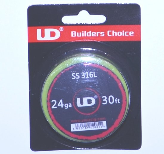 UD SS 316L Wire 24G 30ft