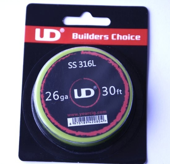 UD SS 316L Wire 26G 30ft