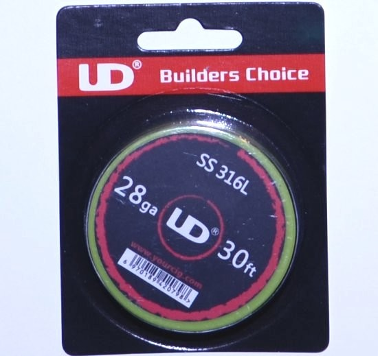 UD SS 316L Wire 28G 30ft