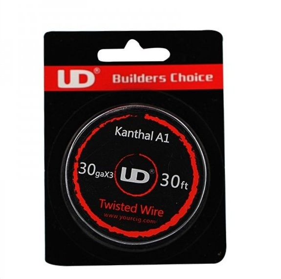 UD Triple Twisted Kanthal 30G 30ft