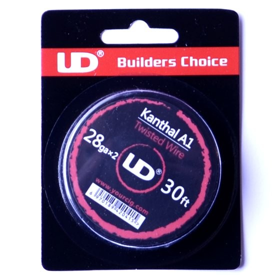 UD Twisted Kanthal A1 28G 30ft