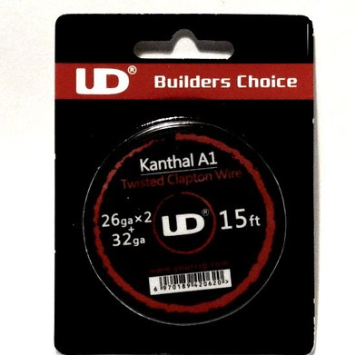 UD Twisted Kanthal Clapton Wire 15ft