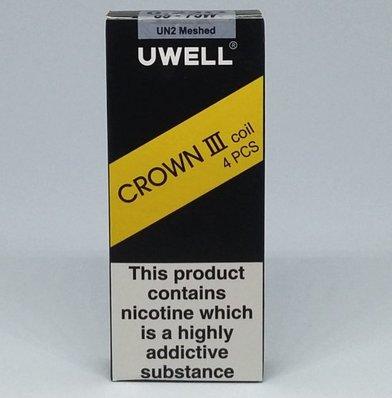 Uwell Crown 3 0.23 Ohm UN2 Mesh Coils