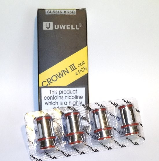 Uwell Crown 3 0.25 Ohm Coils