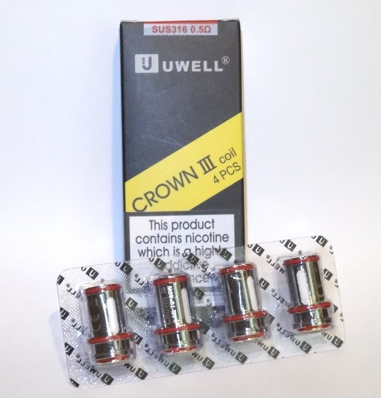 Uwell Crown 3 0.5 Ohm Coils