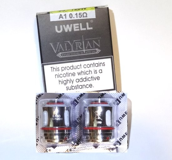 Uwell Valyrian Kanthal A1 Coils 0 15 Ohm | Electronic