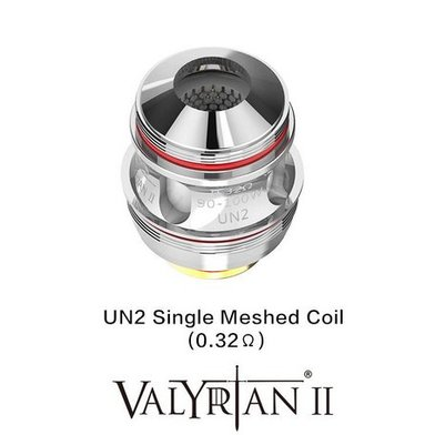 Uwell Valyrian 2 0.32 Ohm Single Mesh Coils