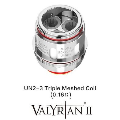 Uwell Valyrian 2 0.16 Ohm Triple Mesh Coils