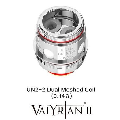 Uwell Valyrian 2 0.14 Ohm Dual Mesh Coils