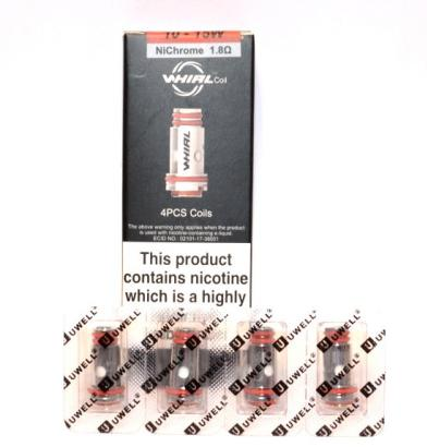 Uwell Whirl 1.8 Ohm Coils