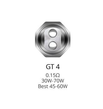 Vaporesso GT4 0.15 Ohm Coils