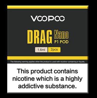 Voopoo Drag Nano P1 Pods (2 pack)