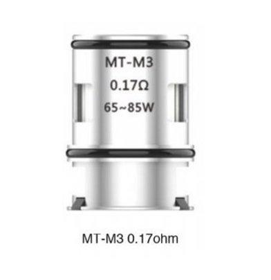 Voopoo MAAT MT-M3 0.17 Ohm Triple Mesh Coils