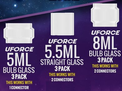 Voopoo Uforce 8ml Extension Glass