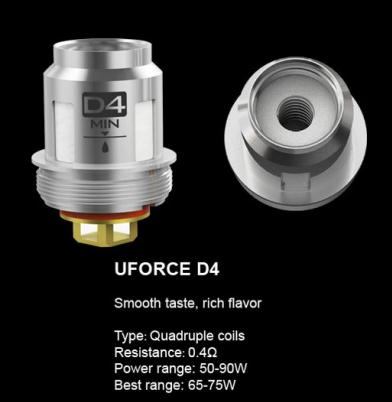Voopoo UForce D4 0.4 Ohm Coils