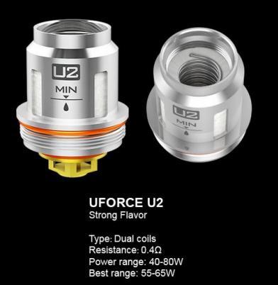 Voopoo UForce U2 0.4 Ohm Coils