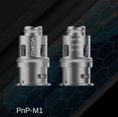 Voopoo Vinci 0.45 Ohm Mesh Coils PnP-M1
