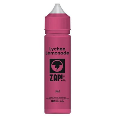 Lychee Lemonade Zap! E-Liquid Shortfill (nic shot inc)